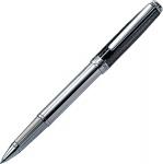 """Ручка роллер в подарочном футляре """"Emotion Black/Rhodium"""" купить"""