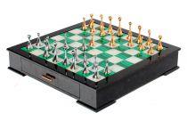 Шахматы - малахит и перламутр купить