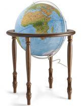 Напольный глобус (физико-политический глобус с подсветкой) BLUE CINTHIA RUSSO купить