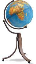 Напольный глобус (физико-политический глобус с подсветкой) BLUE EMILY RUSSO купить