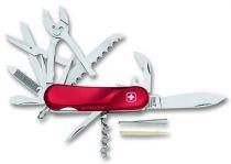 Нож складной WENGER Evolution S 52, с фиксатором, красный, 85 мм купить