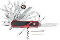 Нож складной WENGER EvoGrip S 54, с фиксатором, красный, 85 мм купить