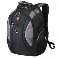 Рюкзак WENGER, черный/серый, полиэстер 900D, 35х23х48 см, 39 л купить