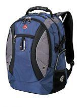 Рюкзак WENGER, синий/серый, 900D, 35х23х48 см, 39 л купить