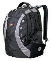 Рюкзак WENGER, черный/серый, полиэстер 900D, 36х21х47 см, 35 л купить
