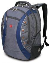 Рюкзак WENGER, серый/синий, полиэстер 900D, 36х21х47 см, 35 л купить