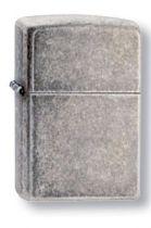 Зажигалка ZIPPO Antique Silver Plate, латунь с покрытием ™Plate, серебристый, матовая, 36х12x56 мм купить
