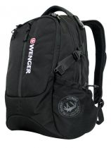 Рюкзак WENGER «120 PACK» цв. черный, полиэстер 1200D, 35х17х49 см купить
