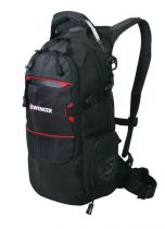 Рюкзак WENGER, чёрный/красный, полиэстер 210D PU, 23х18х47 см, 22 л купить
