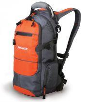 Рюкзак WENGER, серый/оранжевый/серебристый, полиэстер 210D PU, 23х18х47 см, 22 л купить