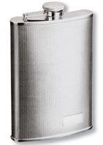 Фляга S.Quire 0,24 л, сталь, серебристый цвет с рисунком купить