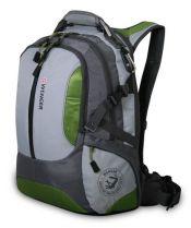 Рюкзак WENGER «LARGE VOLUME DAYPACK», зелёный/серый, полиэстер 1200D, 36х17х50 см, 30л. купить