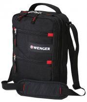 Сумка-планшет WENGER, черный, полиэстер M2, 22x9x29 см купить