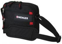 Сумка для документов WENGER, черный, полиэстер 600D, 23x5x18 см купить