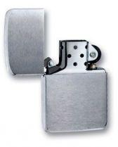 Зажигалка ZIPPO Replica Brushed Chrome, латунь с никеле-покрыт., серебр., матовая, 36х56х12 мм купить