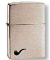 Зажигалка ZIPPO PL Brushed Chrome,латунь,ник.-хром.покрыт.,сереб.,матов., 36х56х12мм купить