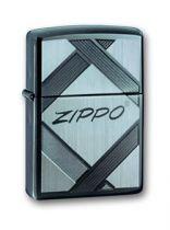 Зажигалка ZIPPO Tradition Black Ice, латунь с ник.-хром. покрыт.,серебр.,глянцевая, 36х56х12 мм купить