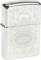 Зажигалка ZIPPO American Classic, латунь с покрытием High Polish Chrome, серебристый, 36х12x56 мм купить