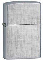 Зажигалка ZIPPO Linen Weave, латунь с никеле-хром. покрыт.,серебр.,матовая,36х56х12мм купить