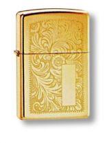 Зажигалка ZIPPO High Polish Brass, латунь, золотистый, глянцевая, 36х56х12 мм купить