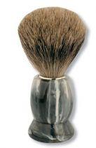 Помазок S.Quire, ворс свиной, рукоять - пластик под серый мрамор, 110 мм купить