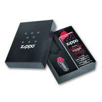 Подарочная коробка Zippo (кремни + топливо, 125 мл + место для зажигалки), 118х43х145 мм купить