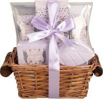 """Набор подарочный Accentra Lavender серии """"Flowers"""", 5 предметов. Аромат лаванда купить"""