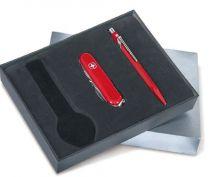 Набор: коробка для часов + армейский нож и шариковая ручка купить