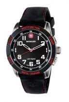 Часы LED NOMAD, черный циферблат, стальной корпус, черный силиконовый ремешок купить