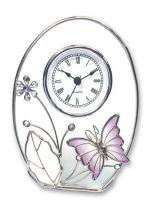 """Часы """"Фиолетовая бабочка"""" купить"""