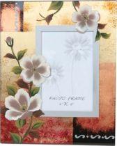 """Рамка для фотографии  10x15, """"Белые цветы """" купить"""