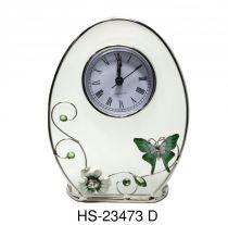 """Часы овальные """"Изумрудное сияние"""" купить"""