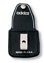 Чехол Zippo для зажигалки из натуральной кожи с клипом, черный, 57х30x75 мм купить