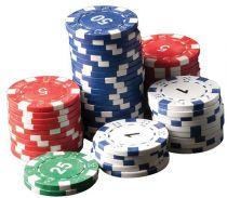 """Фишки для покера с номиналом """"50"""" , пластик, 11,5 г (25 штук) купить"""