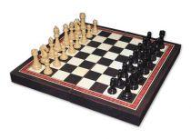 "Шахматы ""Каспаров"" , доска - МДФ, фигуры - пластик, 250 х 250 х 27 мм купить"