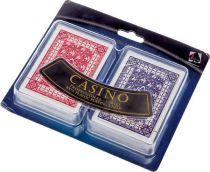 """Набор игральных карт """"Казино"""" 2 колоды по 36 карт, пластик, 120 х 100 мм купить"""