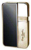 """Зажигалка """"Pierre Cardin"""" газовая пьезо, сплав цинка, покрытие позолота + черный лак, 3,8х0,8х6,3 см купить"""