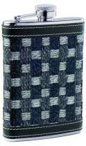 Фляга, кожа плетение трехцветное, 0,24 л, D-PRO купить