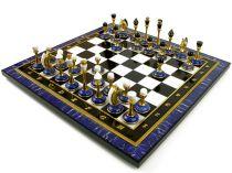 Шахматы из камней (лазурит) купить