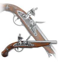 Пистоль франц. пиратов, 18 в. [DE-1012] купить
