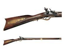 Ружье Кентукки США, 19 в. [DE-1201] купить