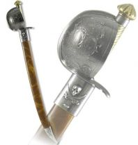 Сабля пиратская, в ножнах, 16 в. [DE-4143-NQ] купить