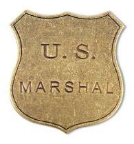 Бэйдж маршала, США [DE-103] купить