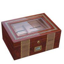 Хьюмидор на 100 сигар с цифровым гигрометром арт. AFN-H101D от Aficionado, Испания купить