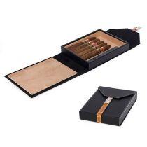 Хьюмидор дорожный на 10 сигар, арт. AFN-H303BLK от Aficionado, Испания купить
