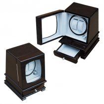 Электромеханическая шкатулка для 2-х часов с автоподзаводом, арт. AFN-WW202M от Aficionado, Испания купить