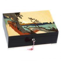 Шкатулка для ювелирных украшений из коллекции Японские гравюры, арт. GIG PT/1/B от Giglio, Италия купить
