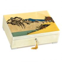 Шкатулка для ювелирных украшений из коллекции Японские гравюры, арт. GIG PT/4/W от Giglio, Италия купить