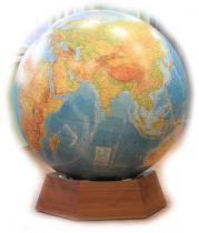 Большой Глобус Напольный Диаметр 128 см физический или политический купить