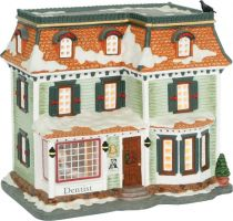 600344 Новогодний сувенир Стоматологическая клиника Luville (h=15 см; s=16 см) купить